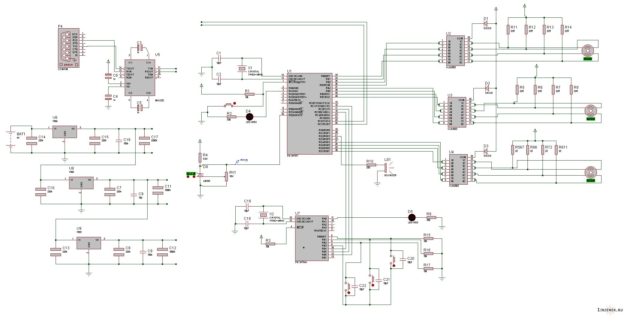 схема чпу станка