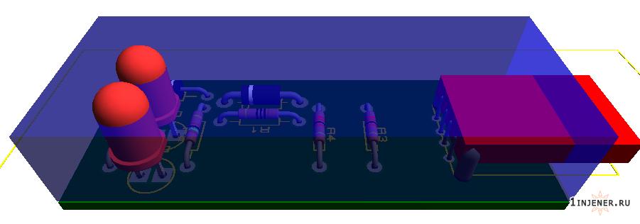 Коробка для схемы проверки юсб порта