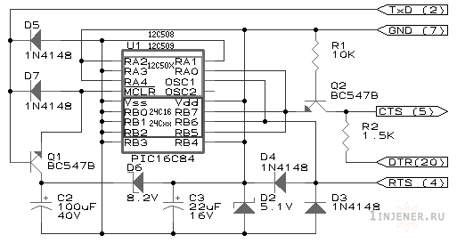 Программатор pic микро контролеров