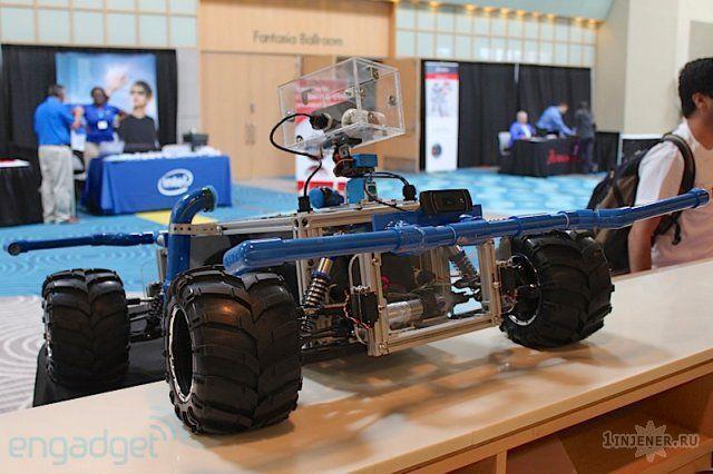 Робот для лазерный войн (Фото)