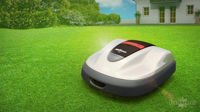 Робот-газонокосилка Honda Miimo