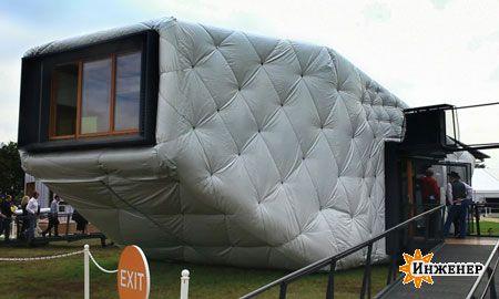 дом на солнечных панелях
