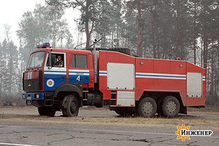 пожарные машины фото