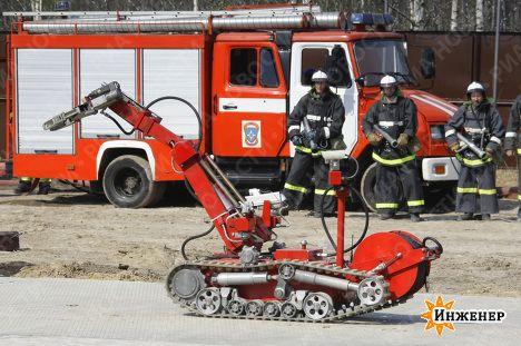 фото пожарные
