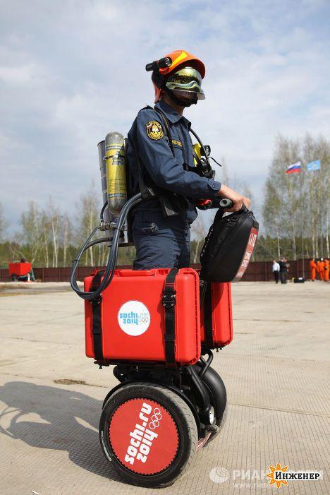 фото пожарных