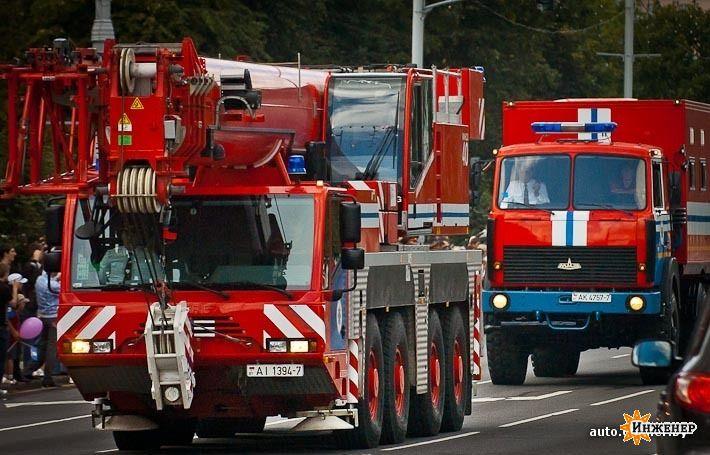 фото пожарных машин
