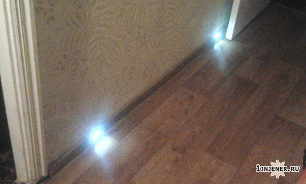 Освещение в доме из светодидодов