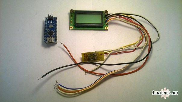WH0802 дисплей и ардуино