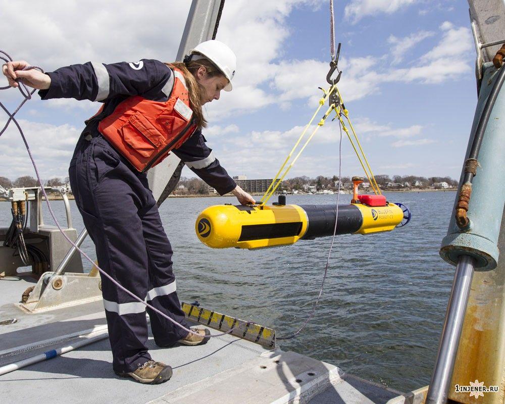 Bluefin-21 подводный робот