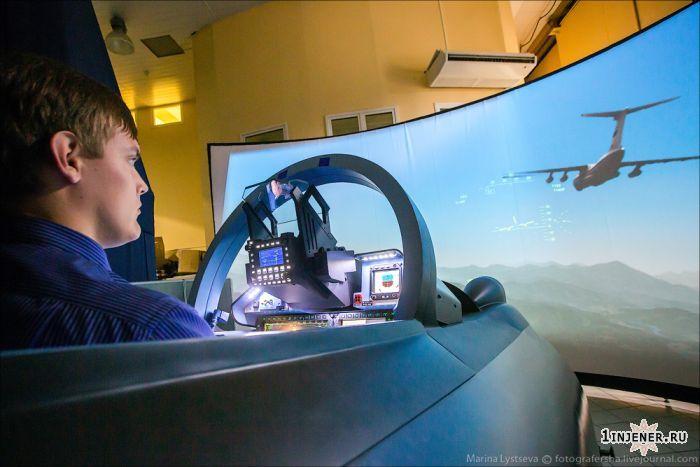 тренажер для самолетов Су35