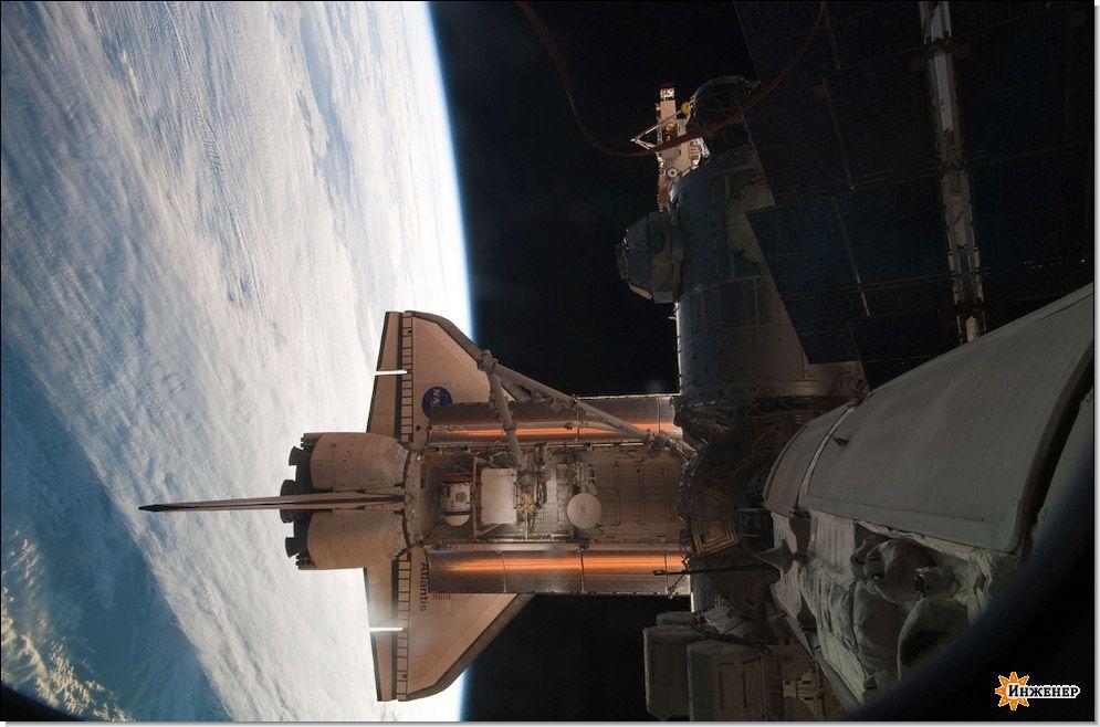 космический корабль, космос, ракета (93.4 Kb)