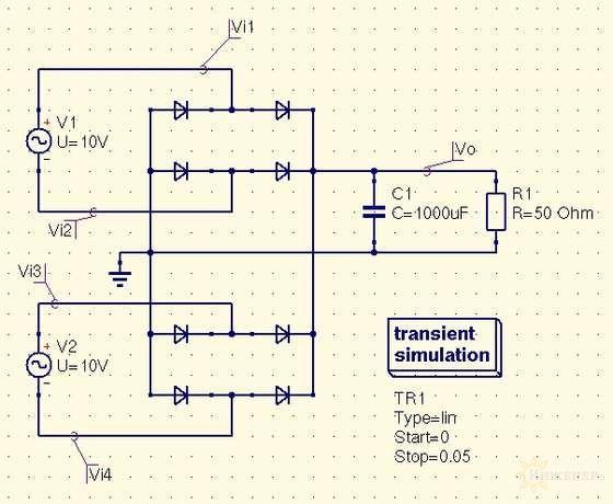 схема ветрогенератор