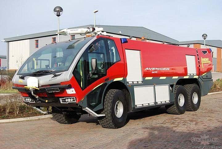 Кабина пожарной автоцистерны